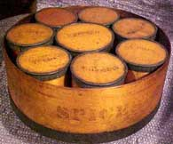Photo of wooden spice boxes