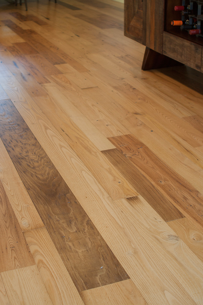 reclaimed american chestnut lumber year of clean water