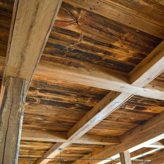 Longleaf Lumber  Reclaimed SkipPlaned Wood Paneling