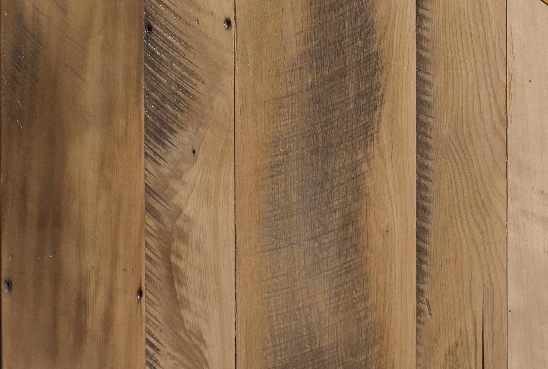 Skip Planing Reclaimed Wood
