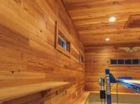 Longleaf Lumber - Reclaimed Heart Pine Chestnut Paneling