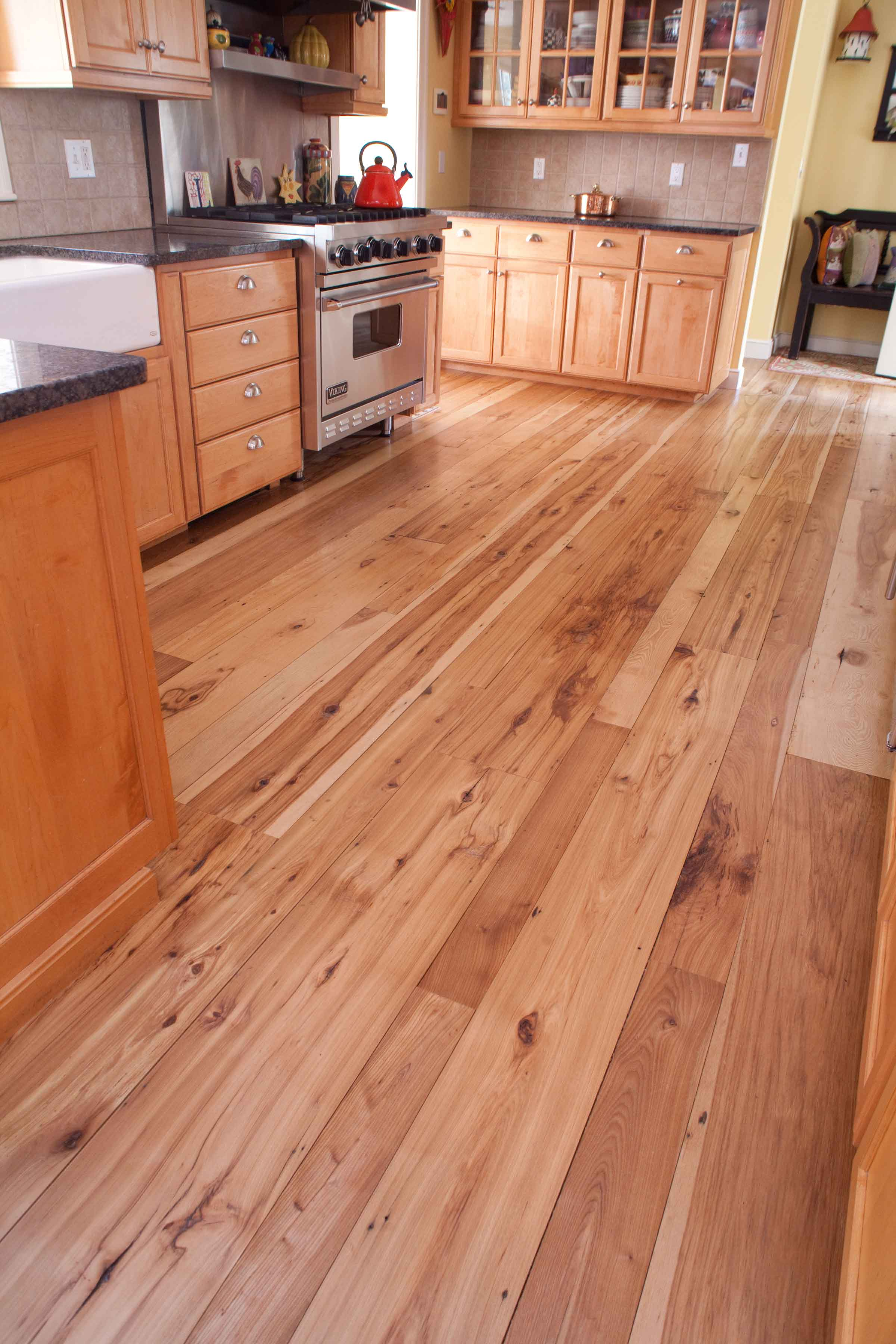Longleaf Lumber  Reclaimed Hickory MixedWidth Reclaimed
