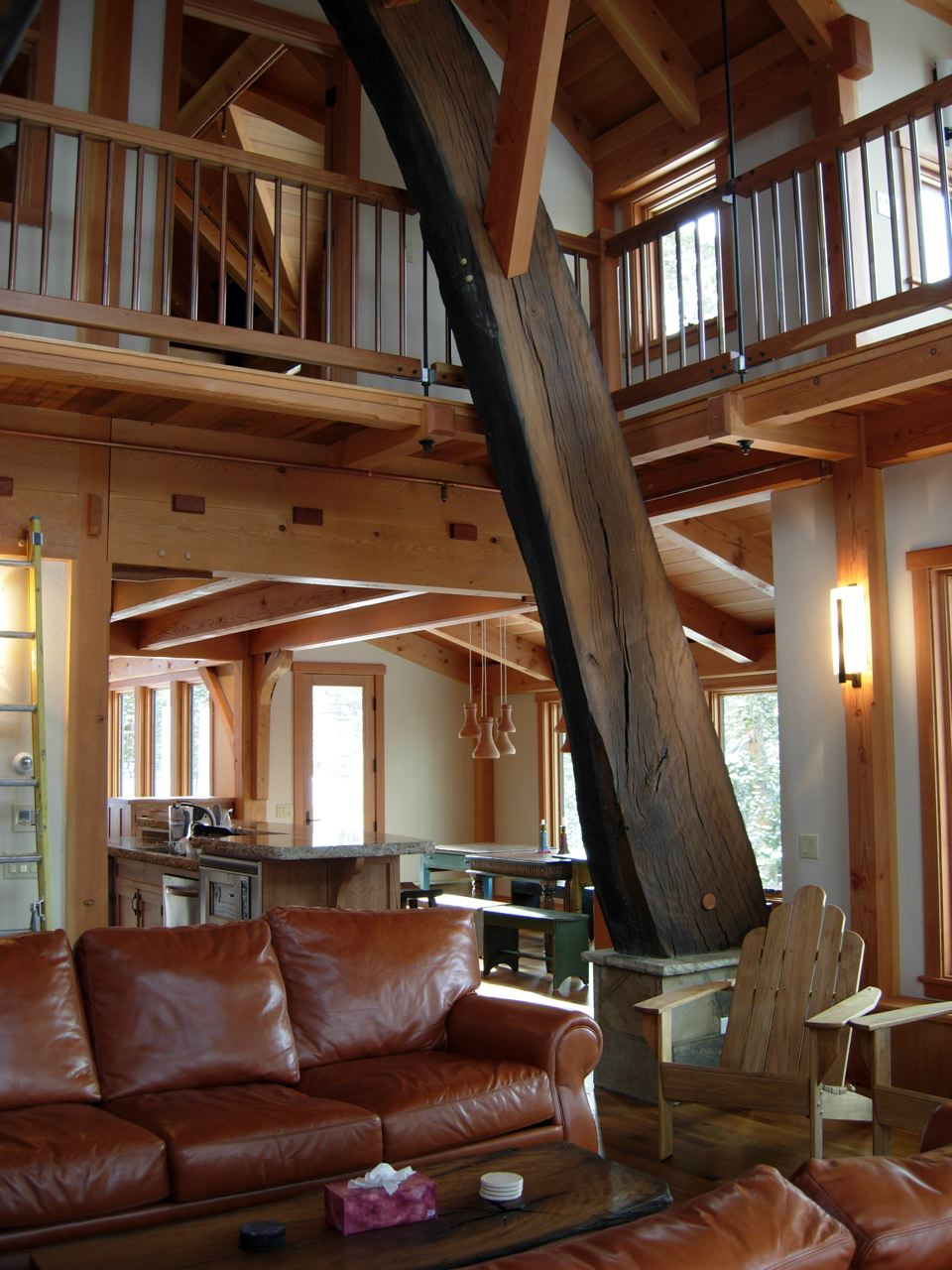 Longleaf Lumber - Reclaimed Live Oak Timber Frame