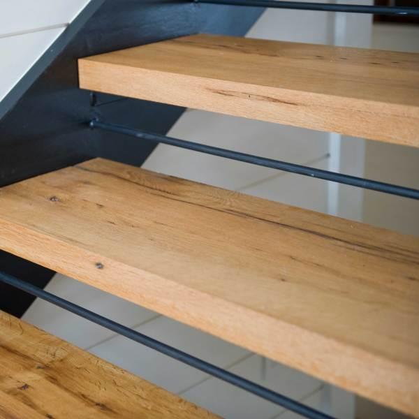 Reclaimed Oak Wood Stair Treads