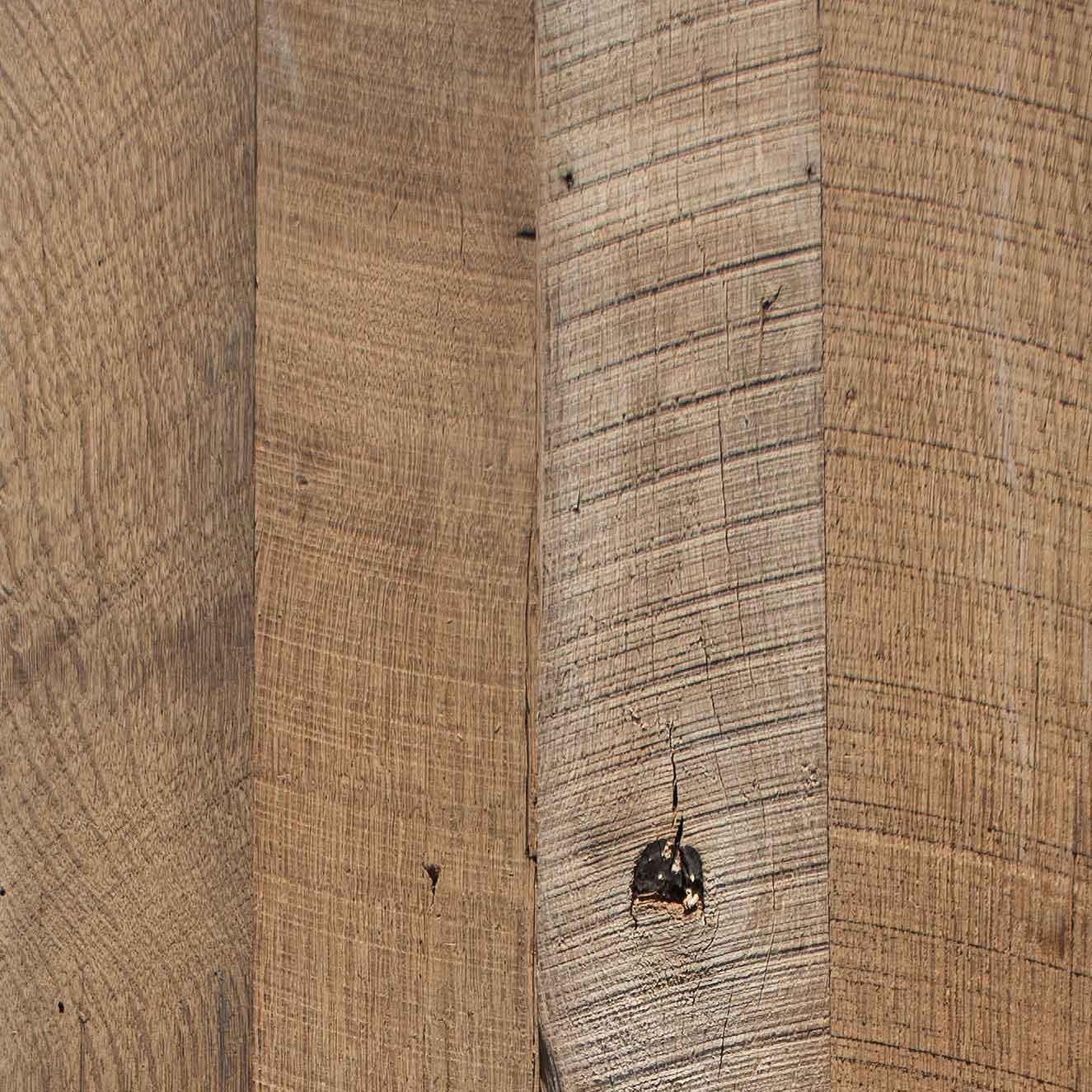 Longleaf Lumber Wire Brushed Oak Paneling