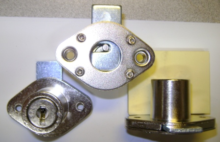 Center drawer locks gang locks desk locks wood deak locks