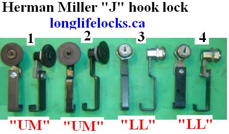 Herman Miller Locks