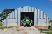 Farm Storage Quonset Buildings made by Longlife Steel ...