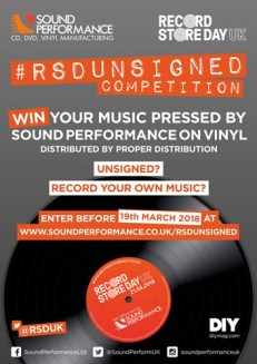 Record Store Day Unsigned