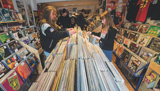 Talking Shop - Longwell Records, Keynsham