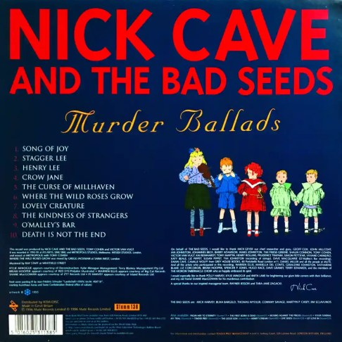 Classic Album: Nick Cave And The Bad Seeds - Murder Ballads