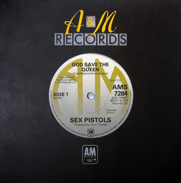 "Rare Sex Pistols 7"" breaks sales record on Discogs"