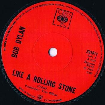 Like A Rolling Stone single