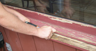 Peeling paint for painting a house Longmont.