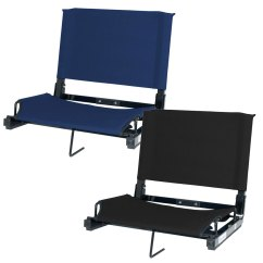 Stadium Chairs For Bleachers With Arms Green Chair 2005 Trailer Bleacher Seat Blank Longstreth Com