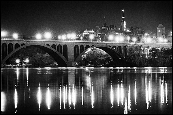 Key Bridge, digital photographic print