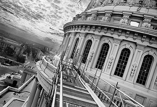 """Capitol Catwalk"", digital photographic print"