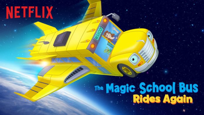 Magic School Bus Rides Again na Netflix!