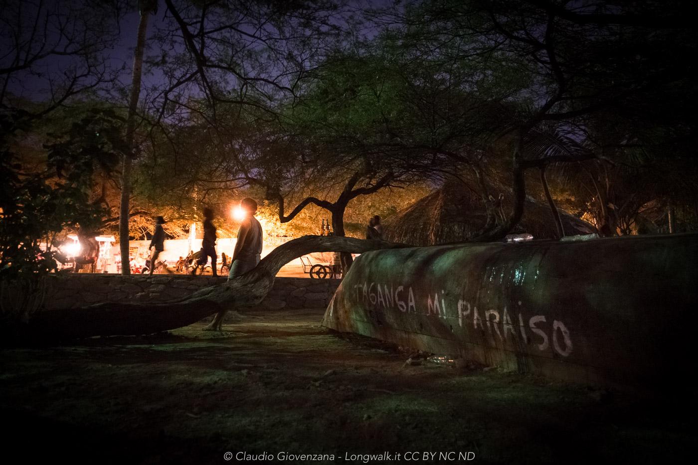 La notte a Taganga colombia