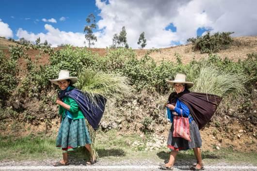 Donne quechua in peru