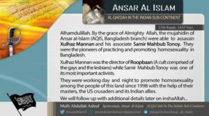 16-04-26 AQIS claims killing activists