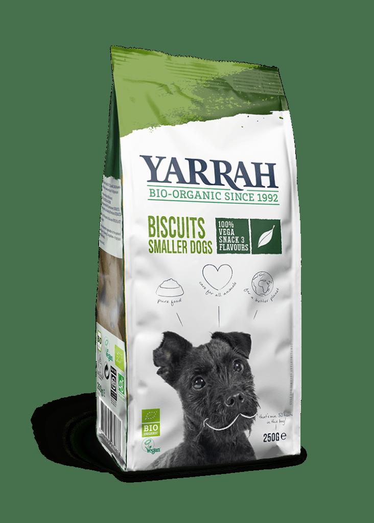 Orgaanilised VEGAN koeraküpsised YARRAH 250g