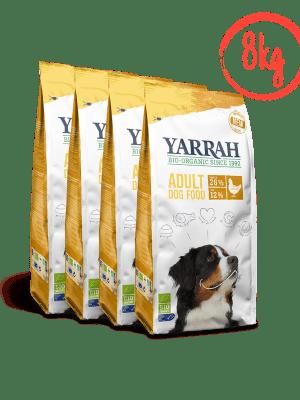 Koeratoit Orgaaniline koeratoit YARRAH kanaga 4x2kg kana