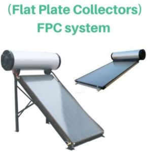FPC (Flat Plate Collectors) system loofal