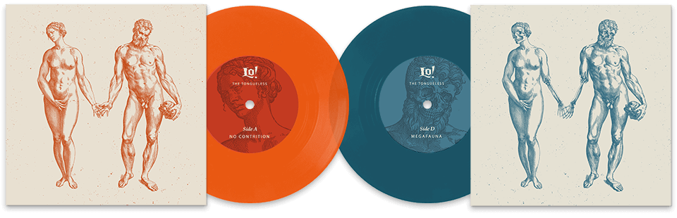 Lo! The Tongueless EP Vinyl Front