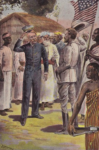 "Dr Livingstone, I presume?"" stock image 
