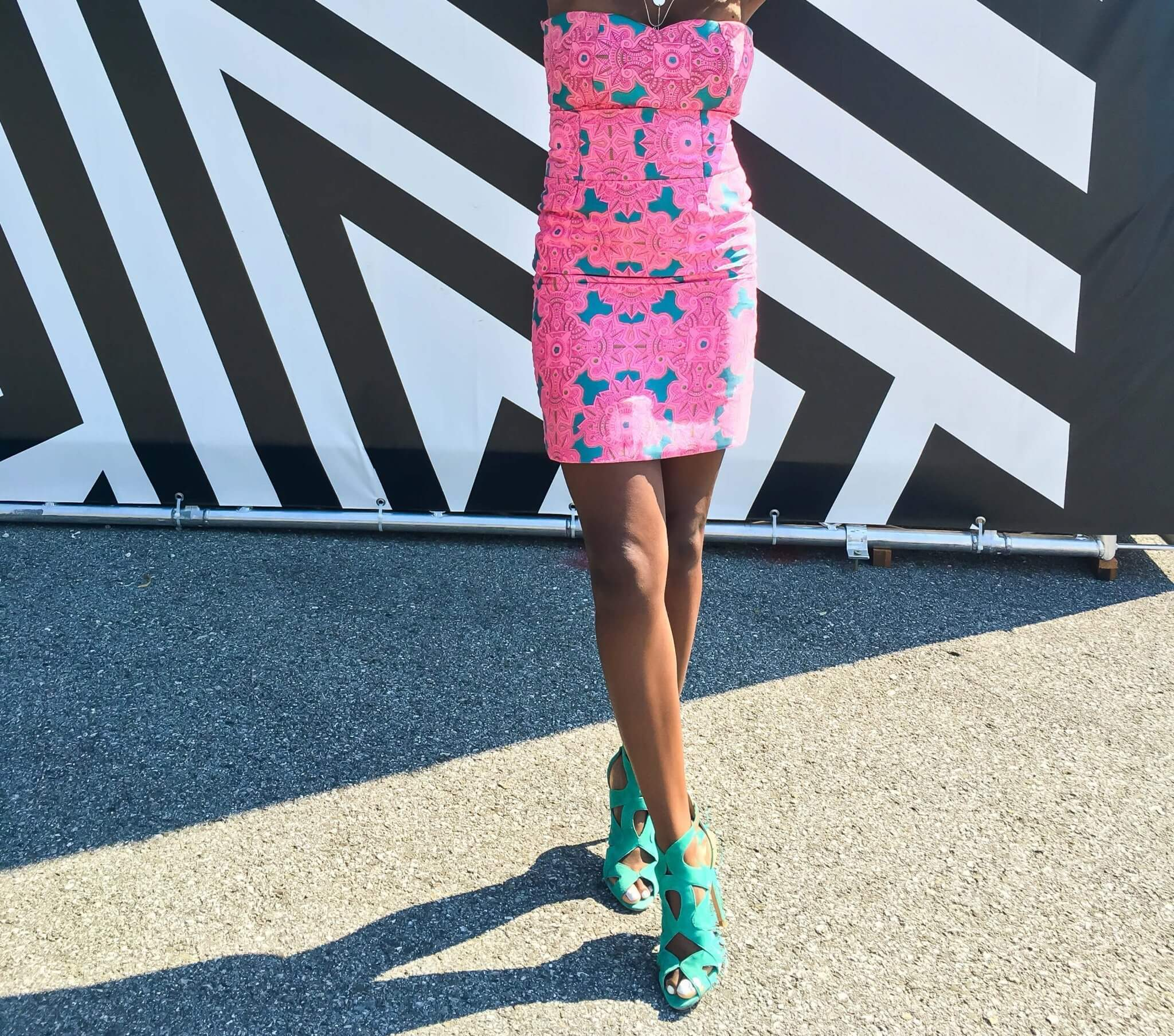 Ankara Wax;Fabric;African Print Clothing; Pink; Coord; Two Piece Set; Zara Heels