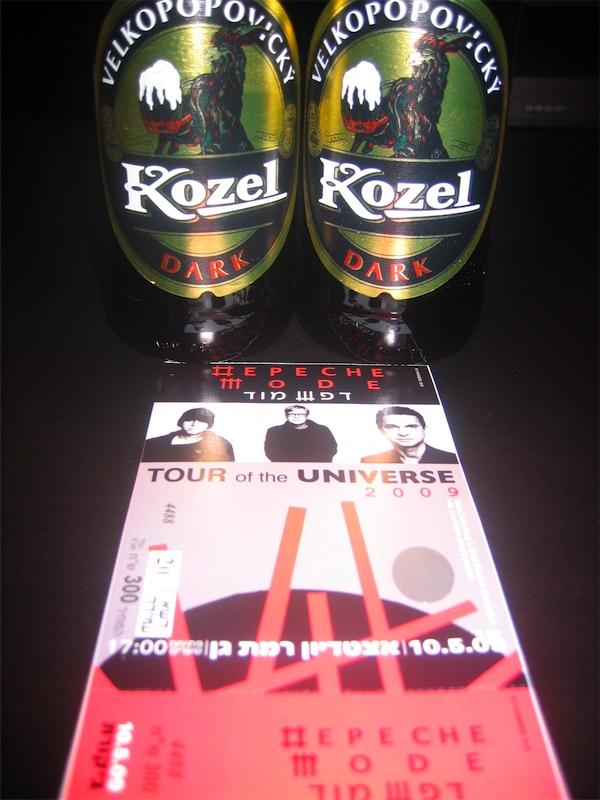 Depeche Mode and Kozel