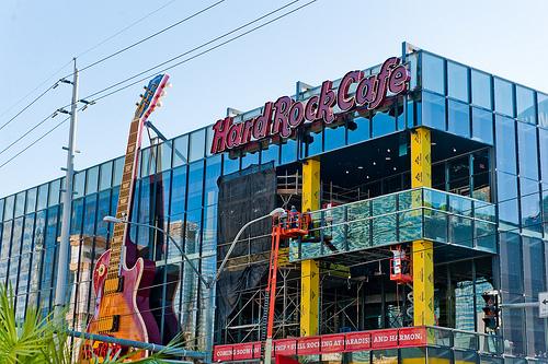 Вид на Америку: Hard Rock Cafe LV