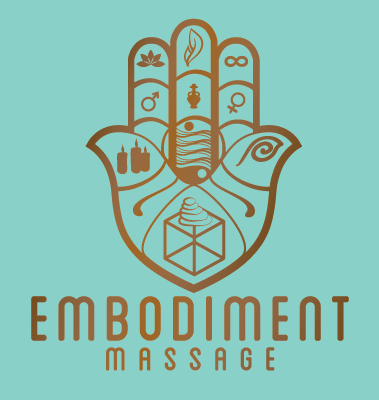 This logo was designed by Steve Miller for Embodiment Massage.