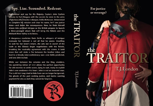 the Traitor book jacket design by Steve Miller of www.LookAtMyDesigns.com