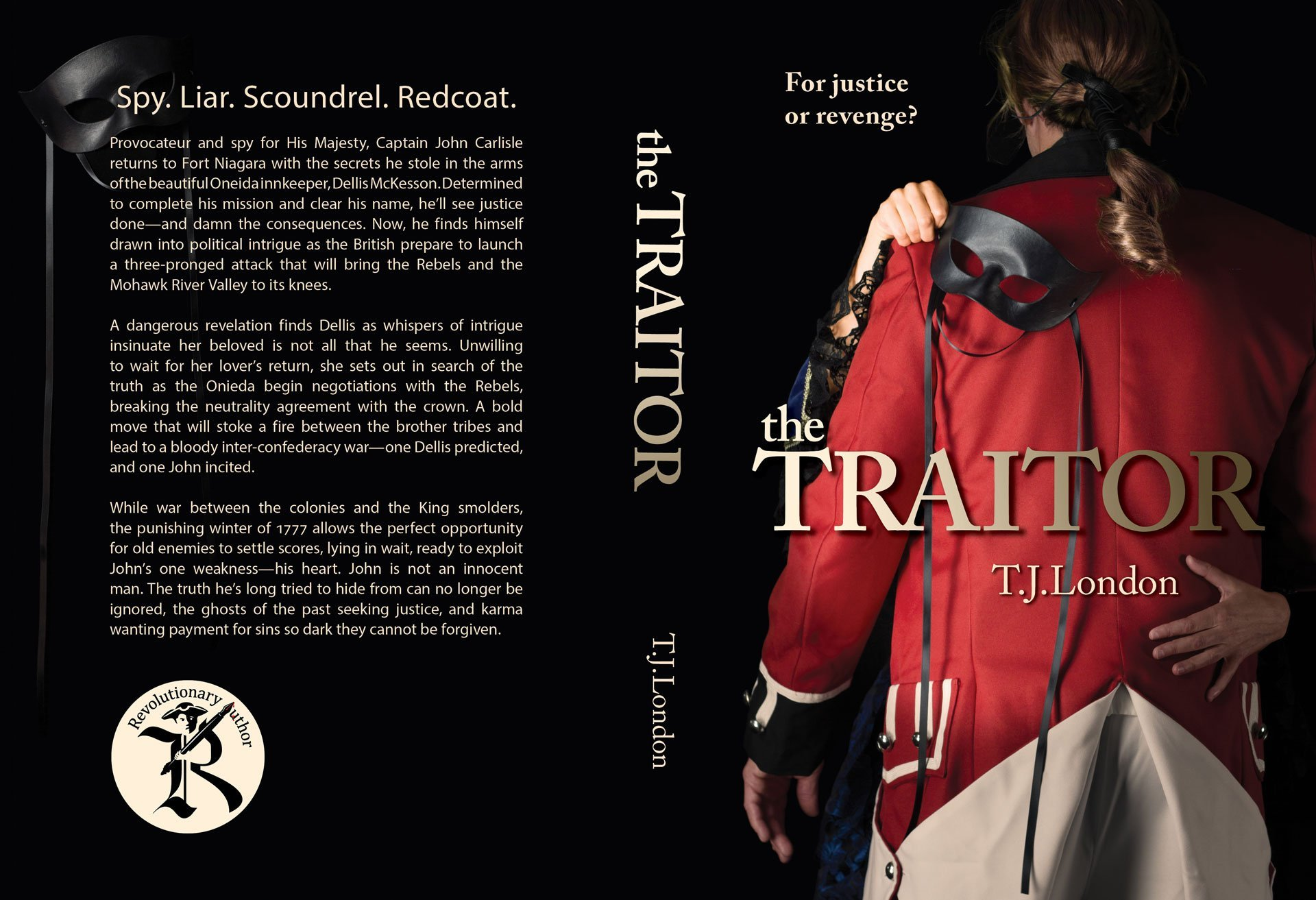 The Traitor - Book Jacket Design
