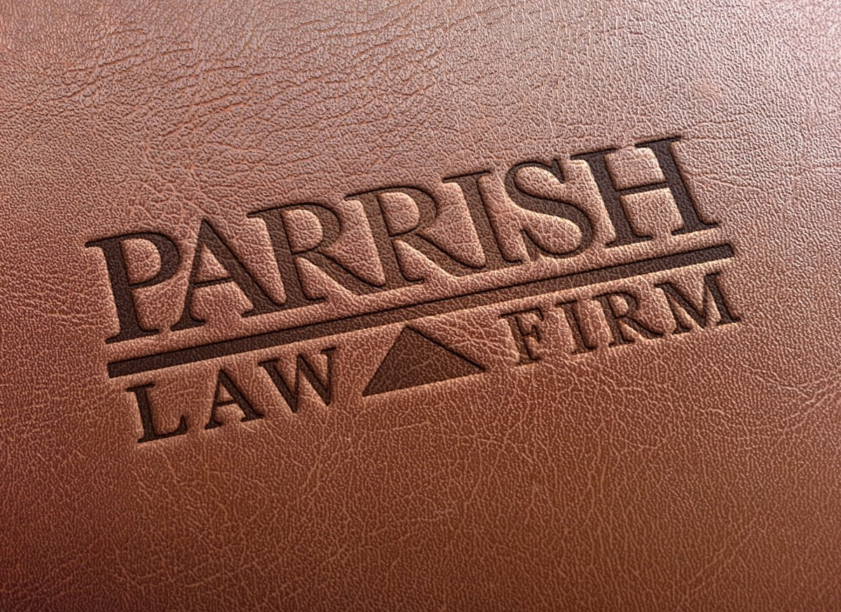 Parrish-Law-Leather-Stamping-Logo