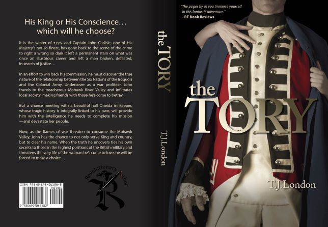 the Tory Book Jacket Design by Steve Miller