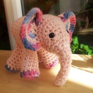 Mei Mei Crochet Elephant 298x300 Meimei:  Free Baby Elephant Crochet Pattern