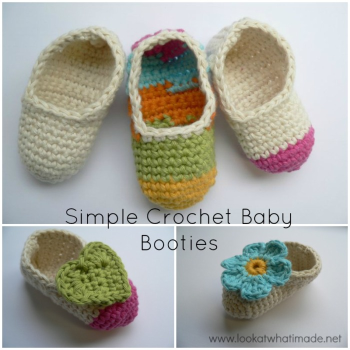 crochet baby booties diagram parts of a castle simple look at what i made free customizable pattern