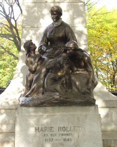Pioneer Ancestor Marie Rollet and Her Children