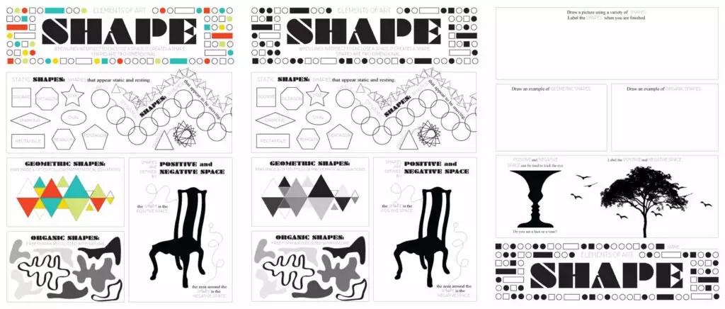 Elements of Art Worksheet Pack + TPT Sale