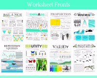 Free Printable Elements Of Art Worksheet