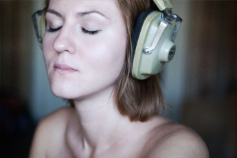 listening to music to get in the zone