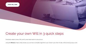 wills website homepage copy
