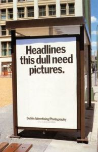 headline with picture