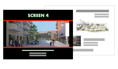 Screen 4 brochure mockup