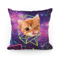 Miley Cat Head | Pillows and Pillow Cases | HUMAN