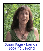 Susan Page, founder of Looking Beyond Master Psychic Readers