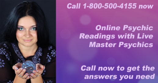 Call 1-800-500-4155 now for online Psychic Readings with live Master Psychics. Call now to get the answers you need.